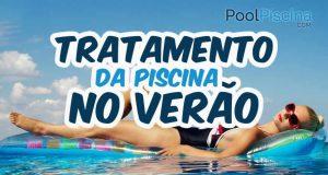Tratamento de piscinas no verão