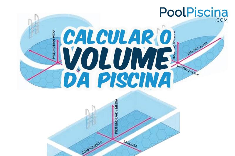 Volume da piscina como calcular o volume de piscinas for Calcular litros piscina