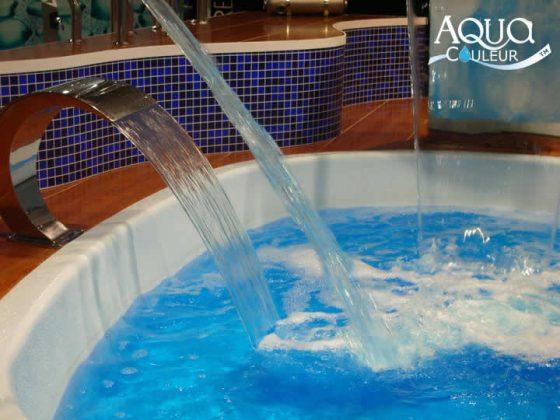 Como colorir a água da piscina - cor lagoa