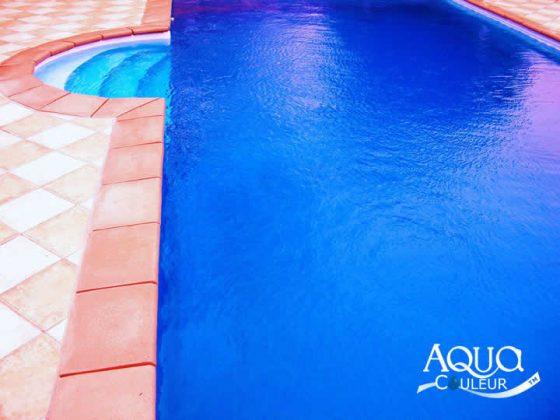 Como colorir a água da piscina - cor oceano profundo