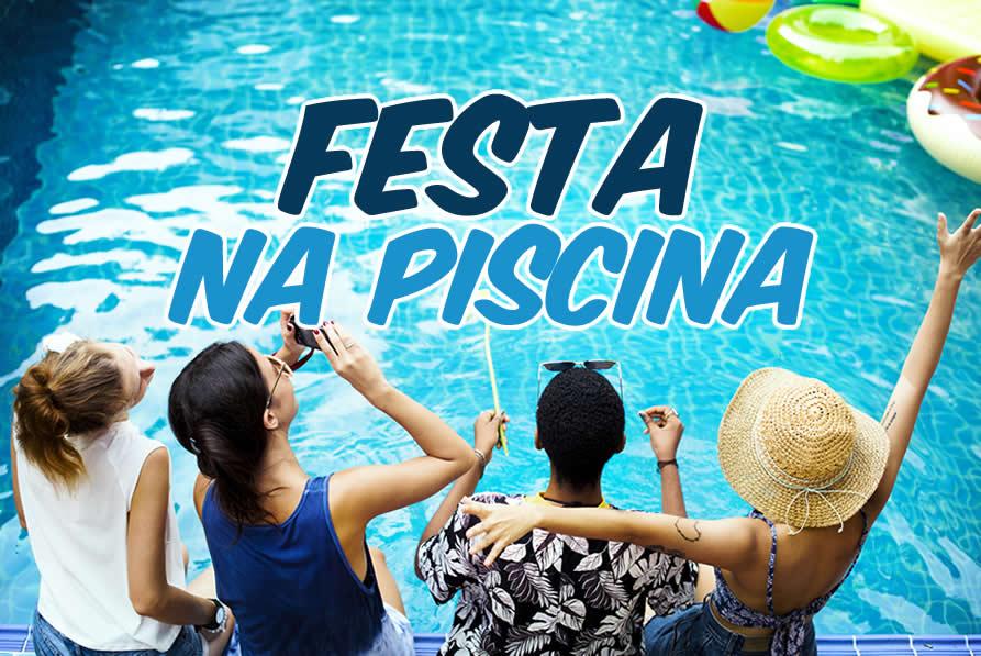 Festa Na piscina mulheres