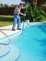 Tratamento da piscina